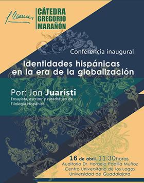 Cátedra Gregorio Marañon. Conferencia por Jon Juaristi