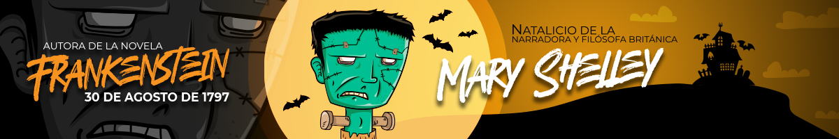 Ilustración de la novela Frankenstein
