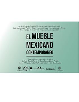 Inauguraci n de la exposici n el mueble mexicano for Muebles estilo mexicano contemporaneo