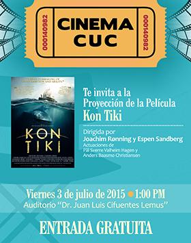 Cartel de la película e invitación para su proyección