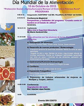 Dia Mundial De La Alimentacion Proteccion Social Y Agricultura Para Romper El Ciclo De La Pobreza Rural Universidad De Guadalajara