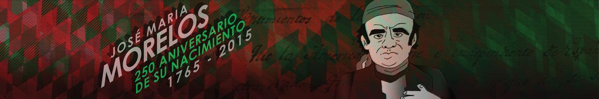 Ilustración dedicada a Morelos también llamado como El Siervo de la Nación