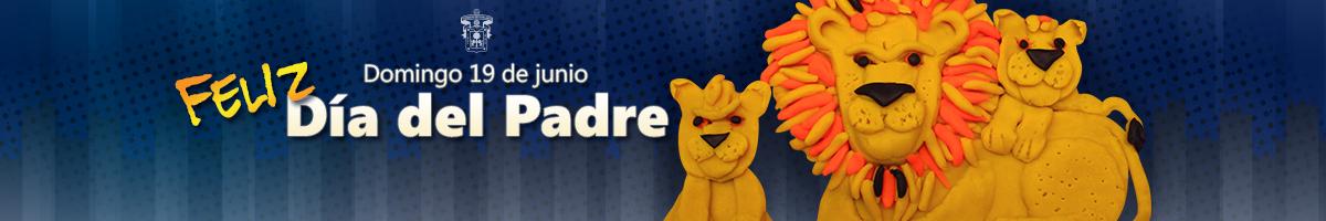 Clic en la ilustracion del león con sus cachorros para abrir el artículo dedicado al Día del Padre