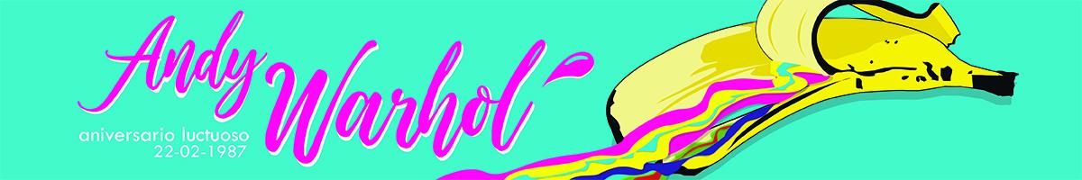 Los colores vibrantes y formas sencillas son caracteristicos en la obra de Warhol. Clic para leer el artículo completo.