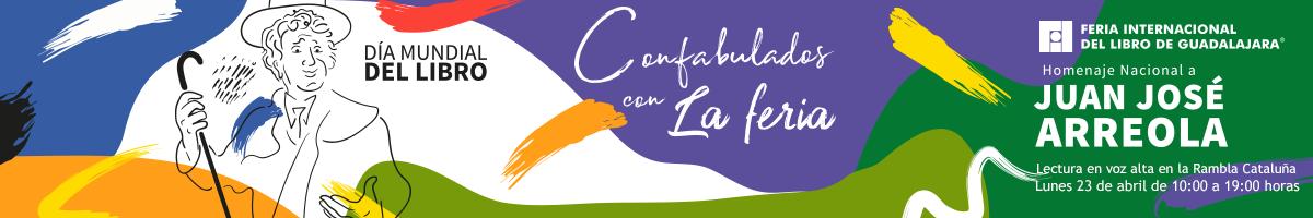 Lectura en voz alta de La Feria de Juan Jose Arreola - 23 de abril Rambla Cataluña