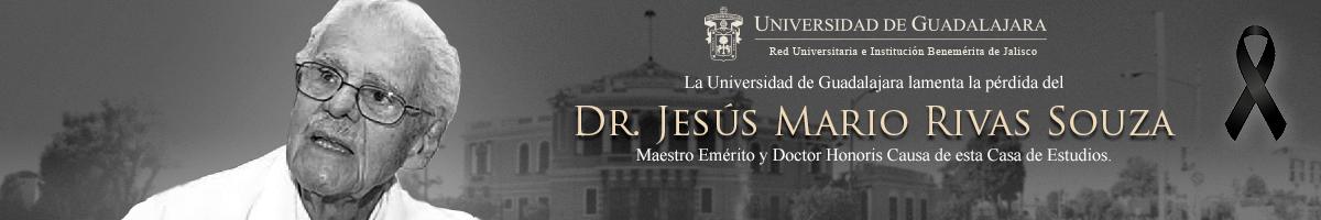 Lamenta la UdeG el fallecimiento del Maestro Emérito y Doctor Honoris causa de esta casa de estudios