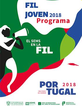 Cartel informativo sobre FIL Joven 2018, Del 26 de noviembre al 2 de diciembre