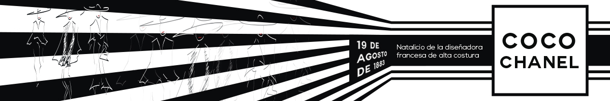 Ilustración del tributo a Coco Chanel