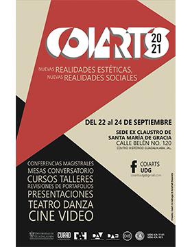 """COIARTS 2021 """"Nuevas realidades estéticas, nuevas realidades sociales"""""""