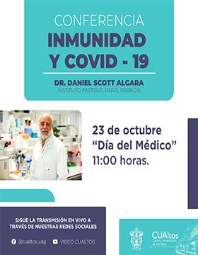 Conferencia: Inmunidad y COVID-19