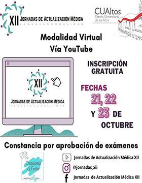 """XII Jornadas de Actualización Médica """"La nueva normalidad"""""""