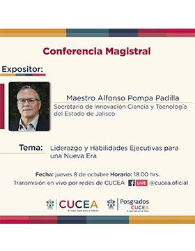Conferencia magistral: Liderazgo y habilidades ejecutivas para una nueva era