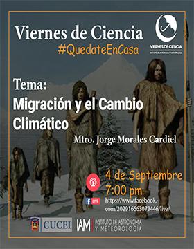 Conferencia: Migración y el Cambio Climático