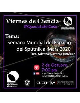 Conferencia: Semana Mundial del Espacio