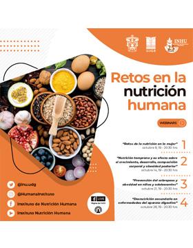Webinar: Retos en la nutrición humana