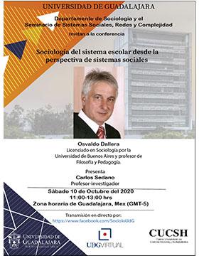 Conferencia: Sociología del sistema escolar desde la perspectiva de sistemas sociales