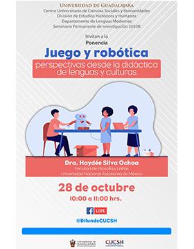 Ponencia: Juego y robótica. Perspectivas desde la didáctica de lenguas y culturas