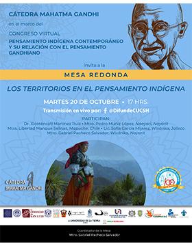 Mesa redonda: Los territorios en el pensamiento indígena