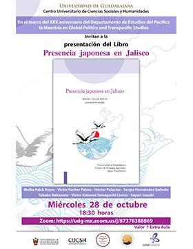 Presentación del libro: Presencia japonesa en Jalisco