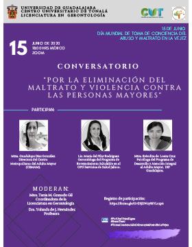 Conversatorio: Por la eliminación del maltrato y violencia contra las personas mayores
