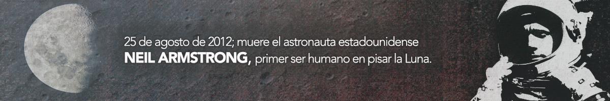 Ilustración del astronauta Neil Armstrong