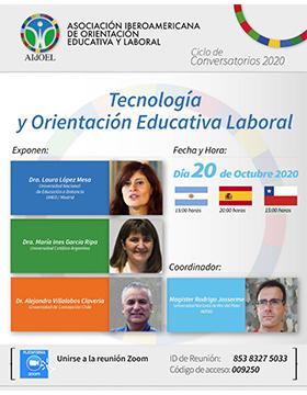 Conversatorio: Tecnología y Orientación Educativa Laboral