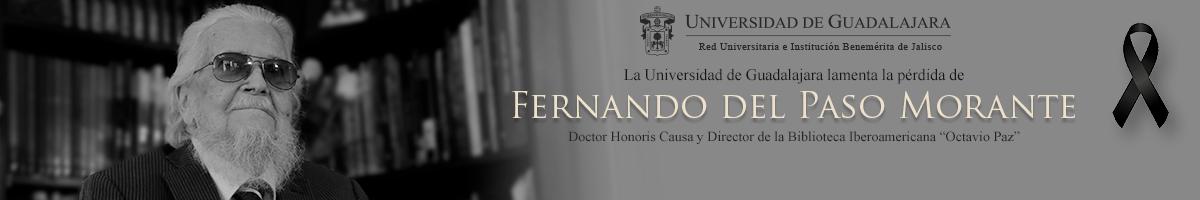 La Universidad de Guadalajara lamenta la pérdida de Fernando del Paso