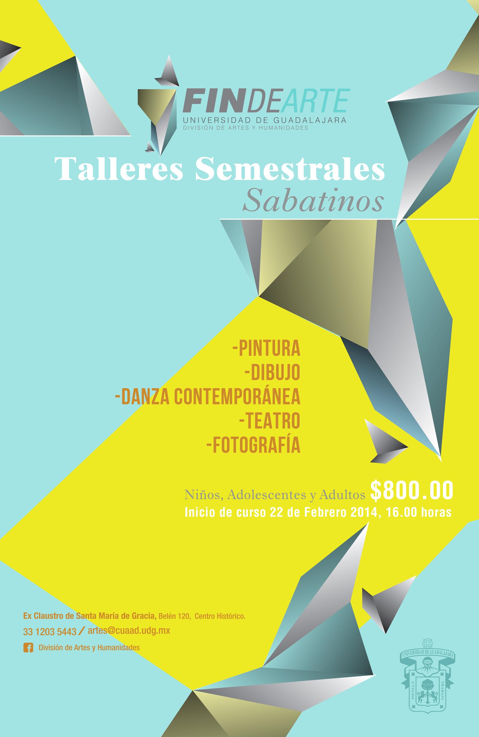 Fin de arte universidad de guadalajara for Universidad de arte