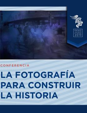 Identidad gráfica para promocionar la conferencia La el 25 de septiembre en Centro Universitario de los Lagos