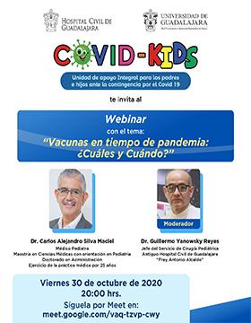 Webinar: Vacunas en tiempo de pandemia: ¿Cuáles y cuándo?