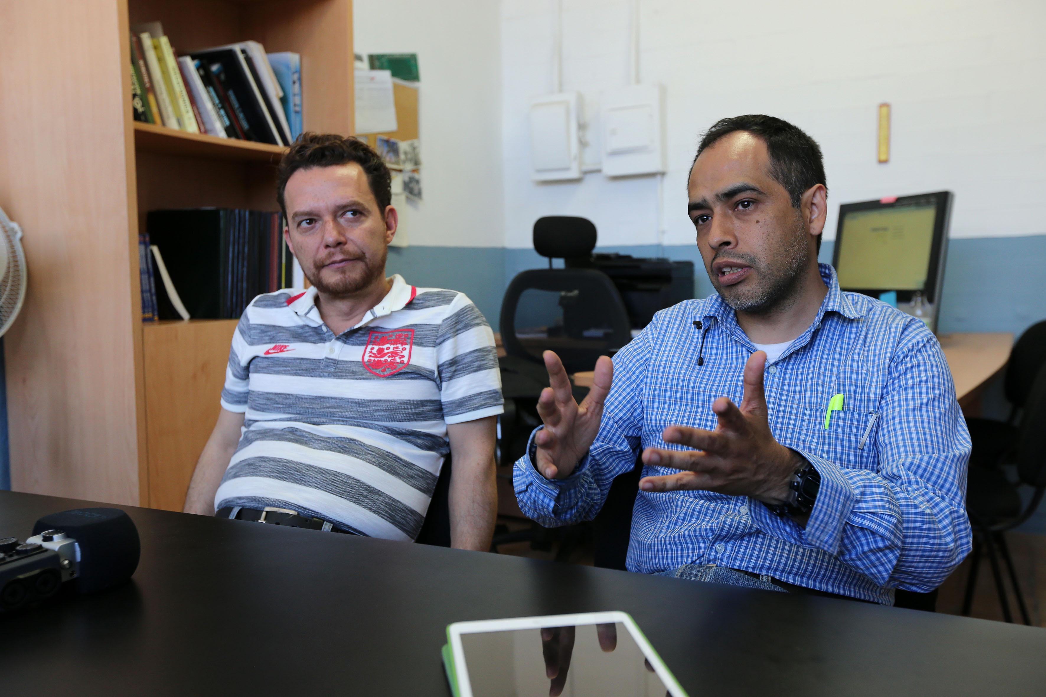 Zaldívar Navarro y Cuevas Jiménez, ambos doctores en inteligencia artificial por la Universidad Libre de Berlín.