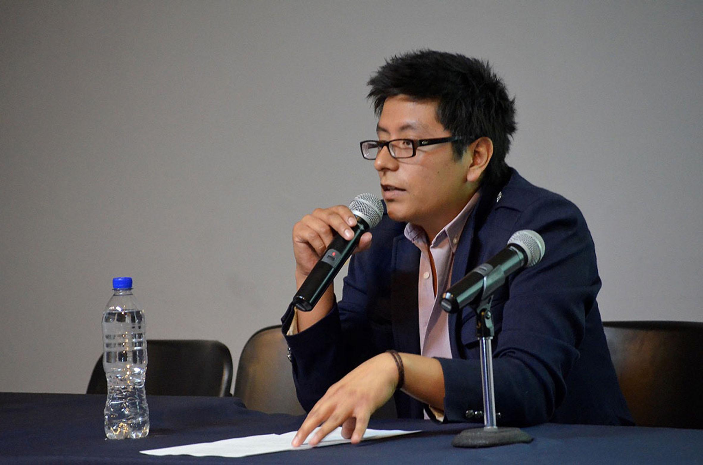 Jorge Melelndez director del movimiento de inclusión social