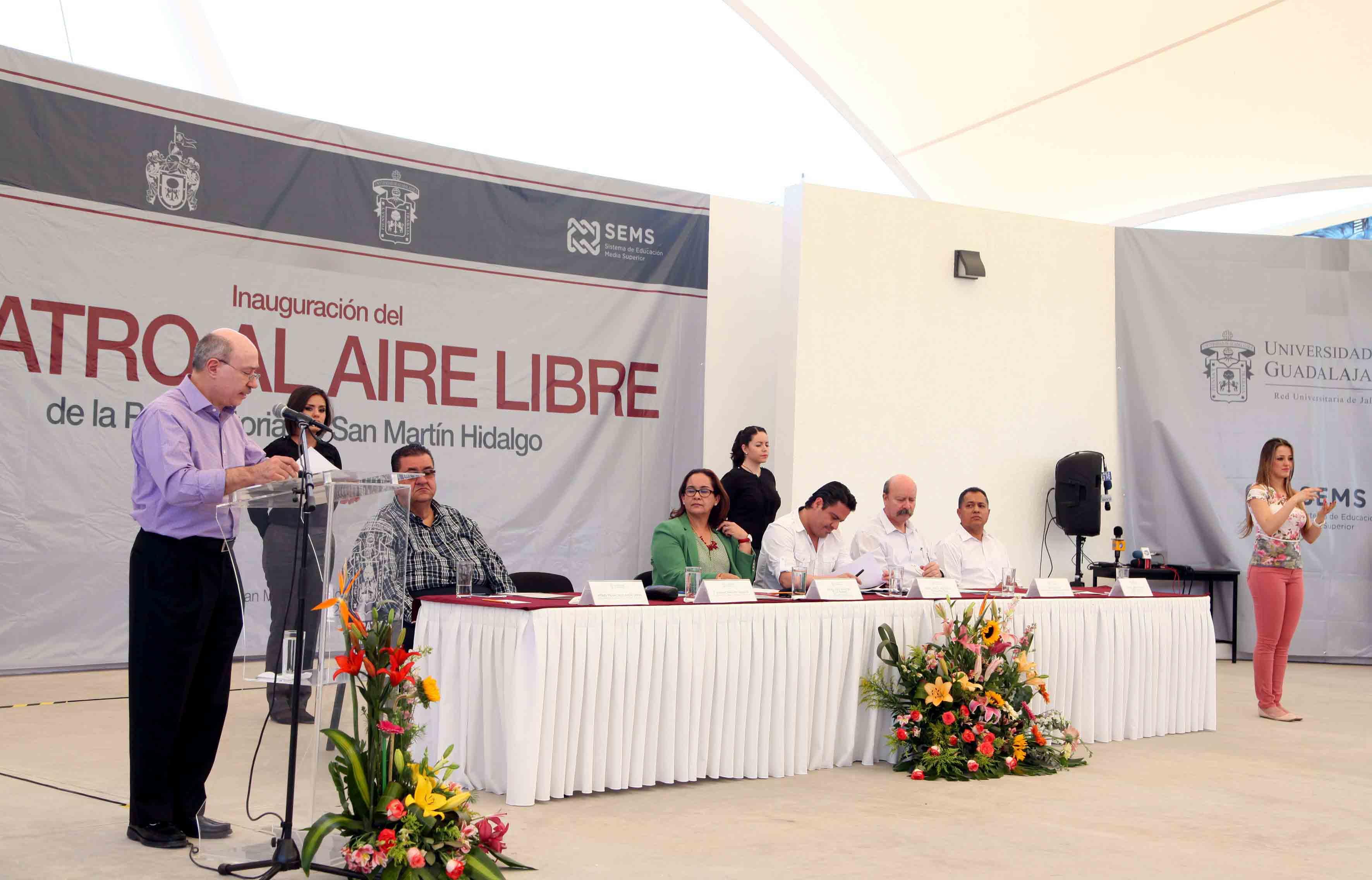 Al acto acudió el gobernador de Jalisco, maestro Jorge Aristóteles Sandoval Díaz