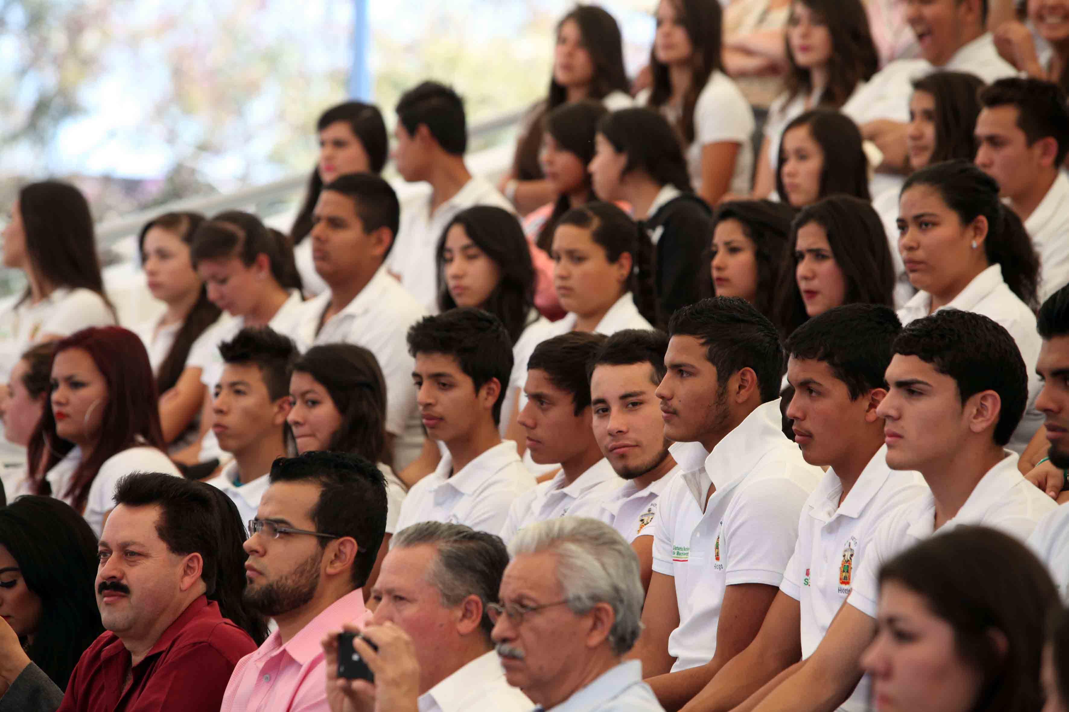 En la imagen alumnos de la Preparatoria San Martín Hidalgo UdeG