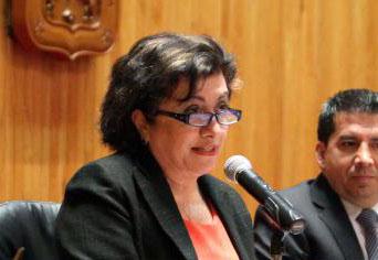 """En la imagen la doctora Elia Marúm Espinosa, coordinadora de la Cátedra Unesco """"Género liderazgo y equidad""""."""