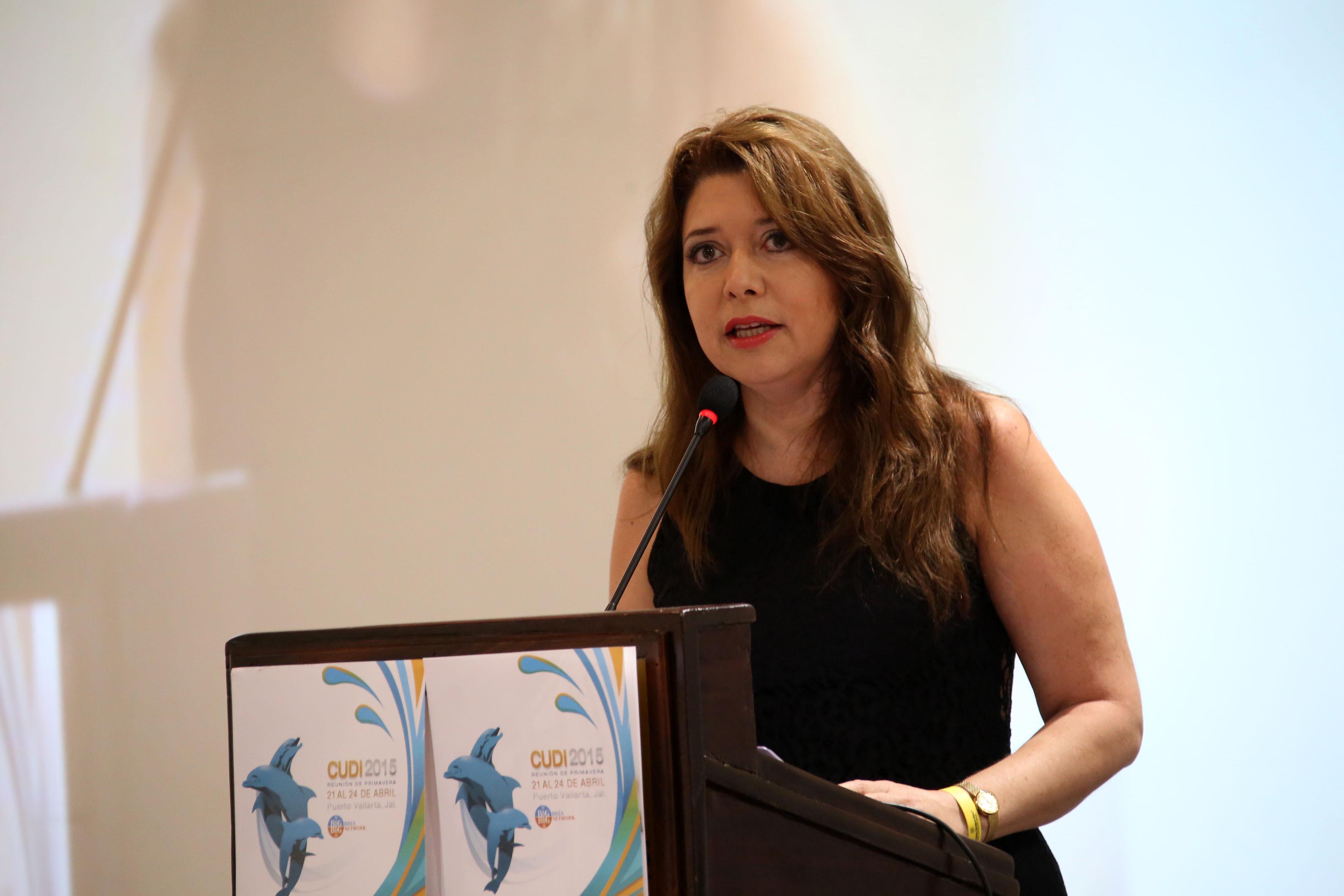 Carmen Rodriguez Armenta directora de la instancia coordinadora nacional del proyecto México conectado