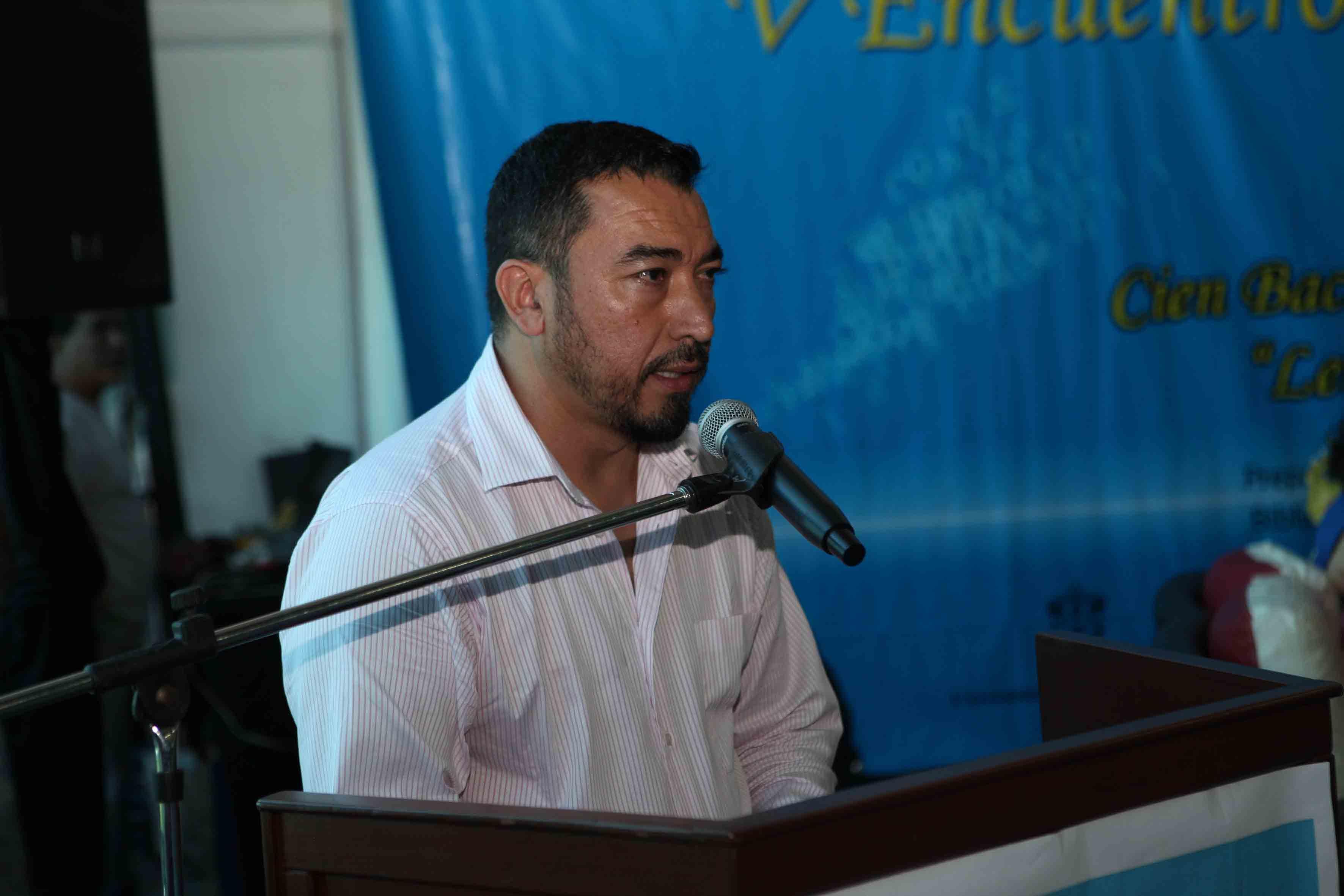 Participante del V encuentro de Poetas y Arte