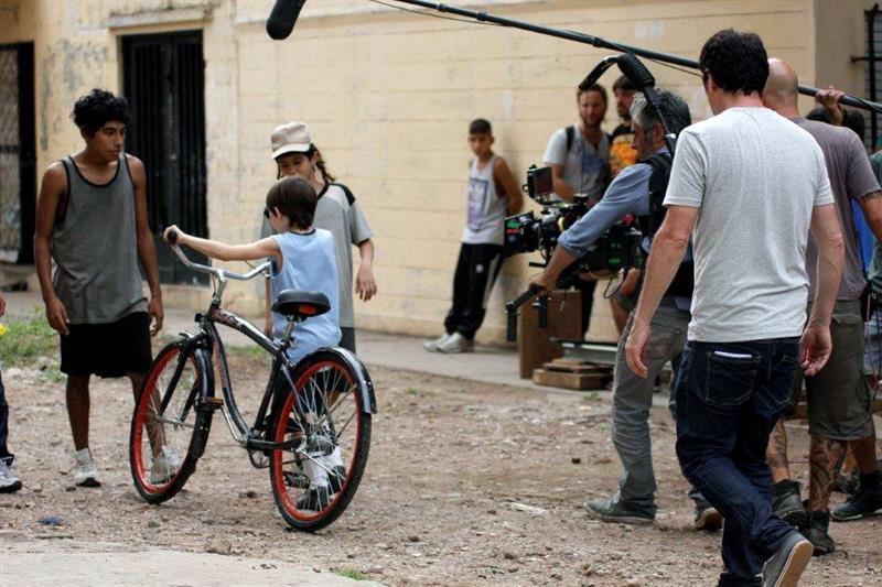 "Escena del documental ""Messi"" dirigida por Alex de la Iglesia"