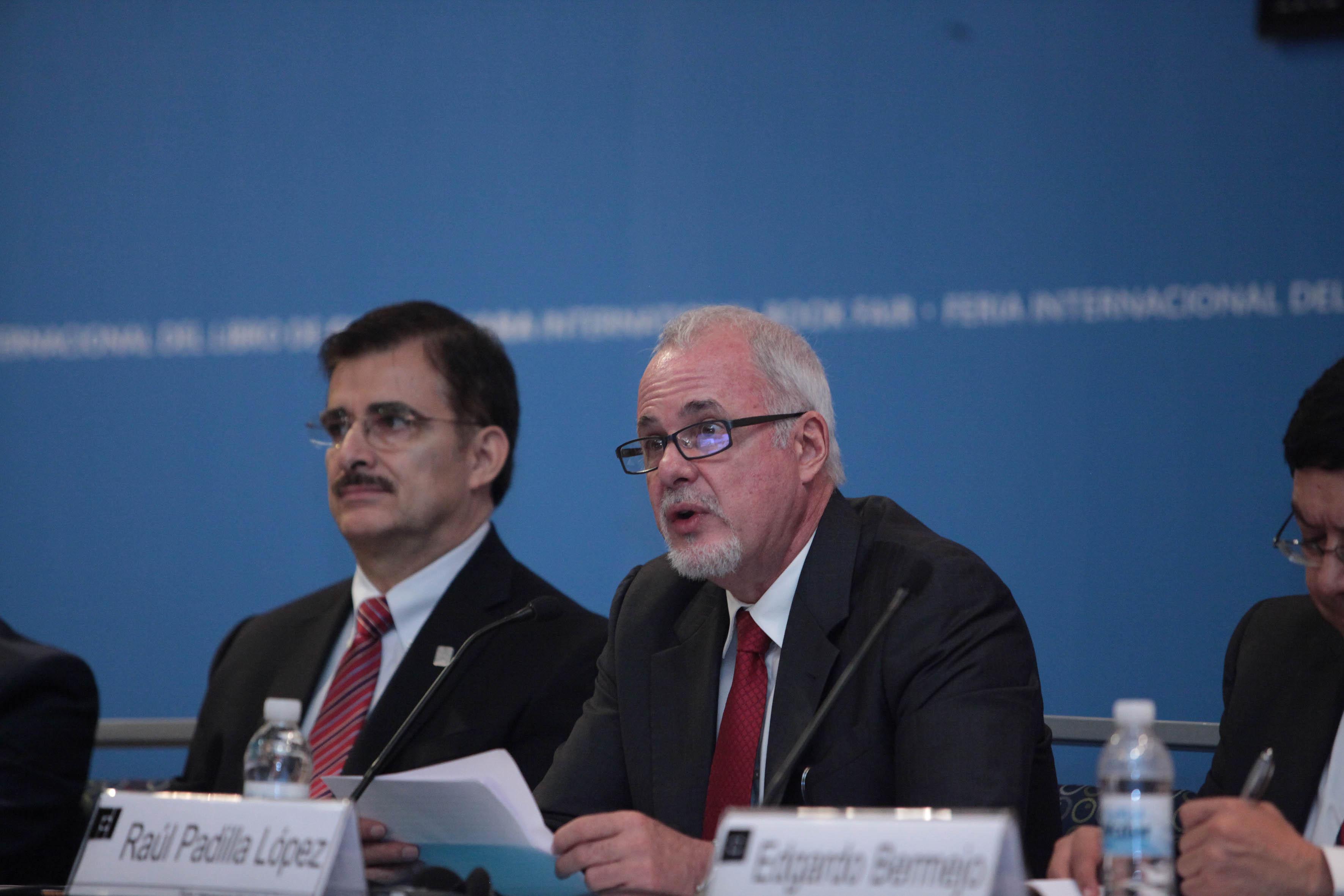 El presidente del Comité Organizador de la FIL, Raúl Padilla López