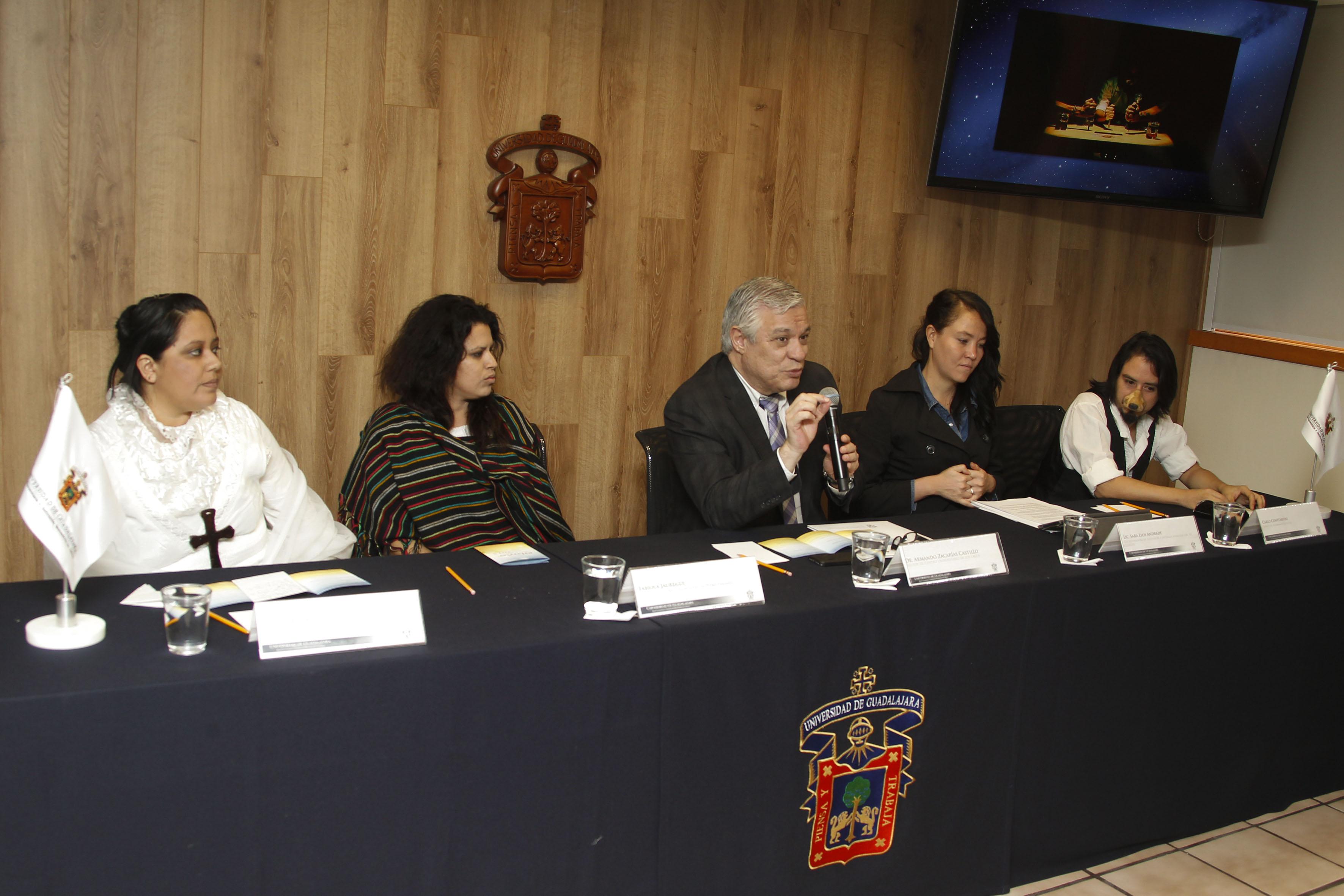 Rueda de prensa del Festival Cultural de Otoño, CULagos.