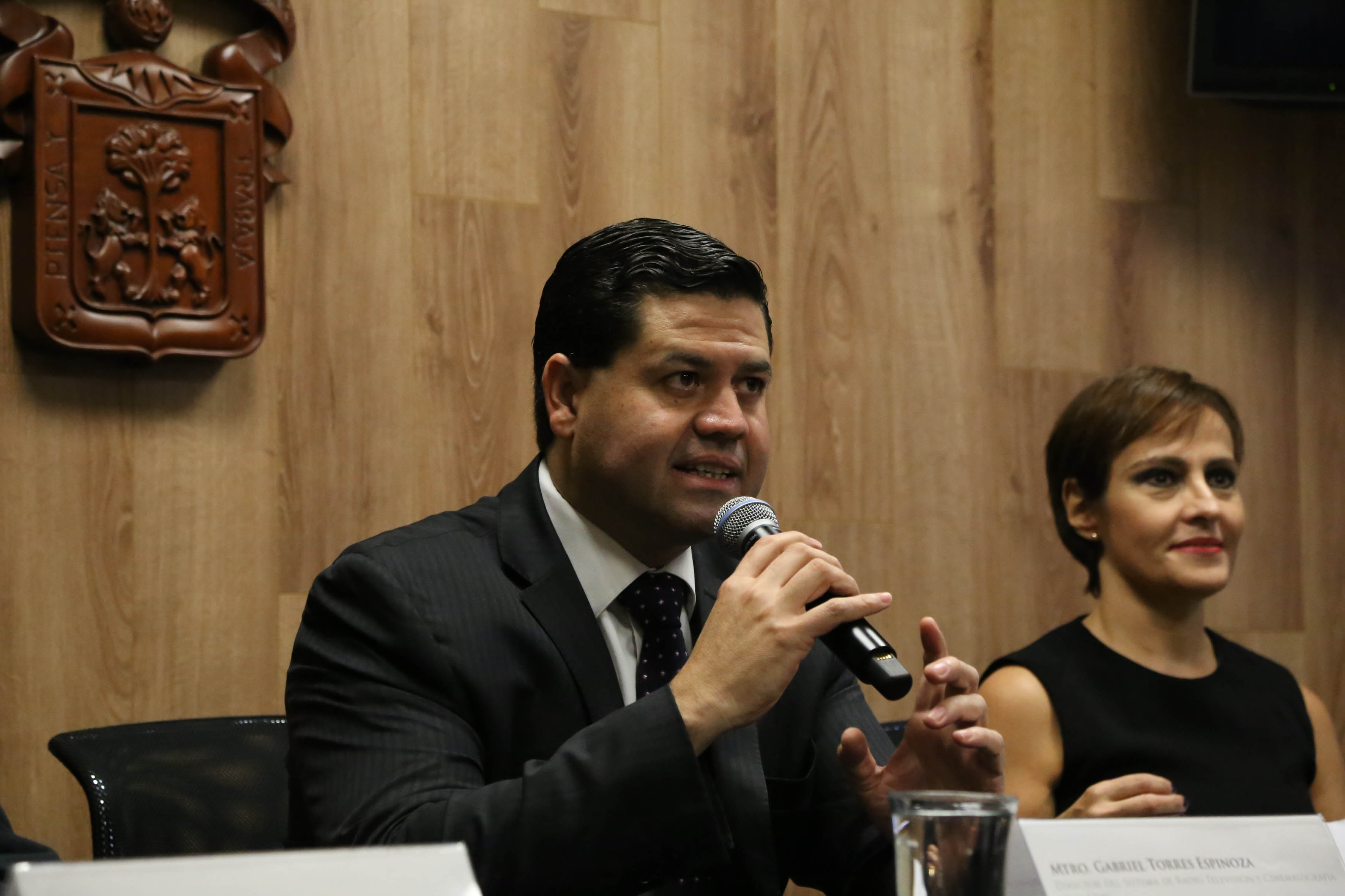 Mtro. Gabriel Torres, Director de la Operadora del Sistema Universitario de Radio, Televisión y Cinematografía