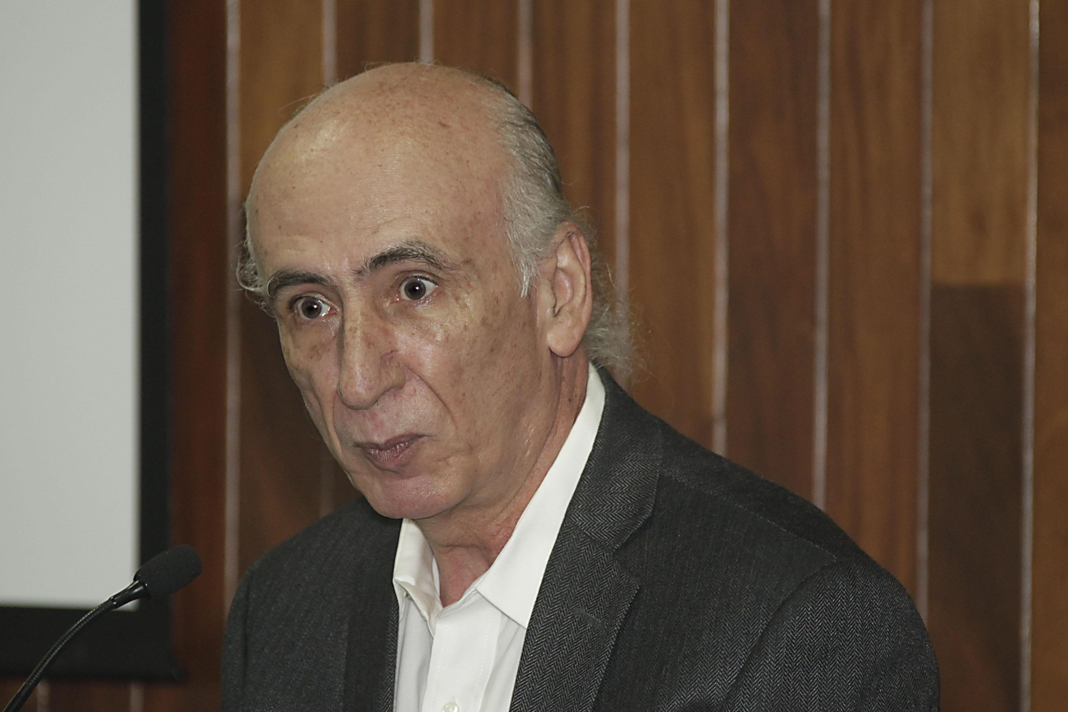 Doctor Jaime Preciado Coronado jefe del Departamento de Estudios Políticos del CUCSH