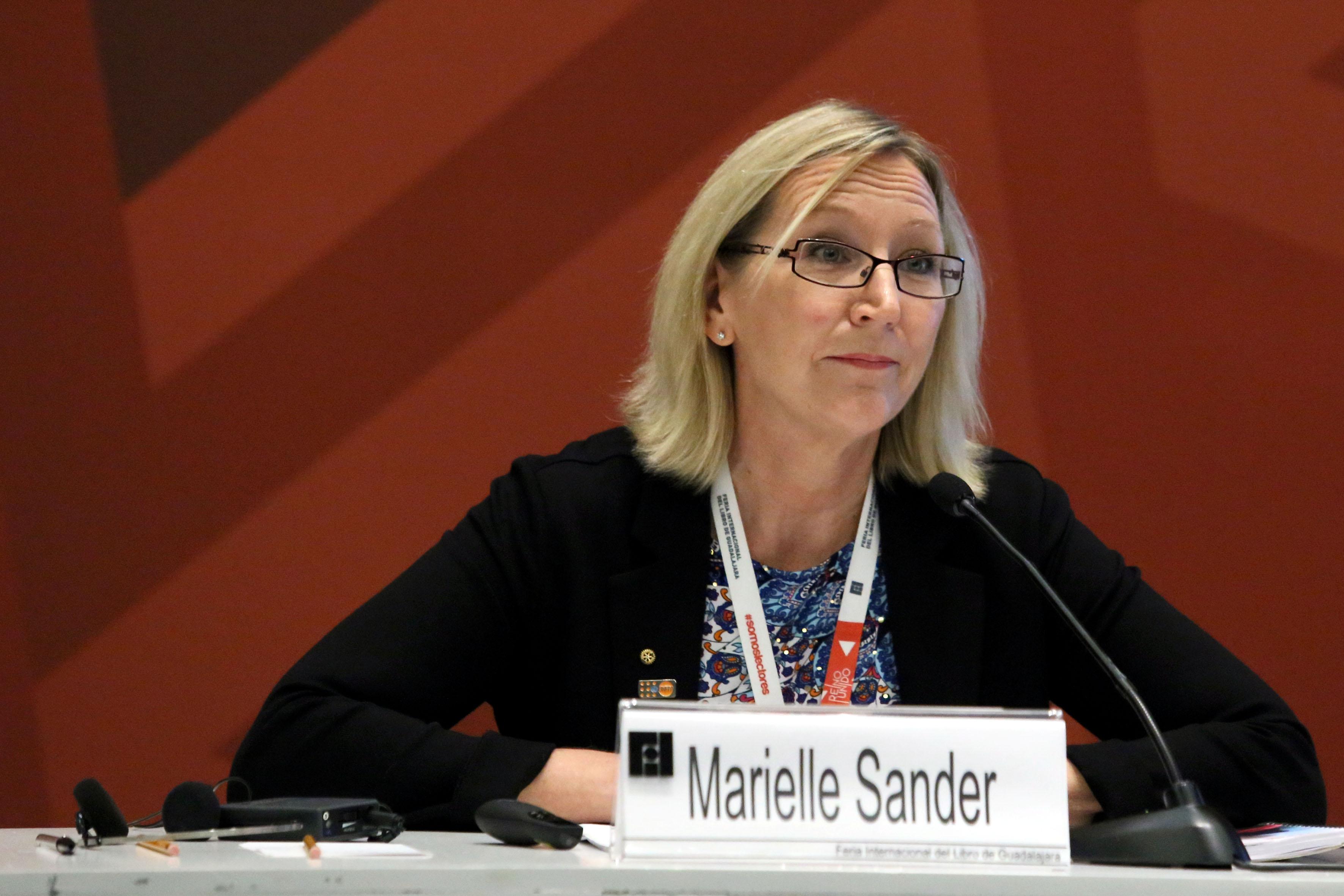 Mariele Sander, maestra en Migración y Derecho y miembro del United Nations Population Found, con sede en Haití.