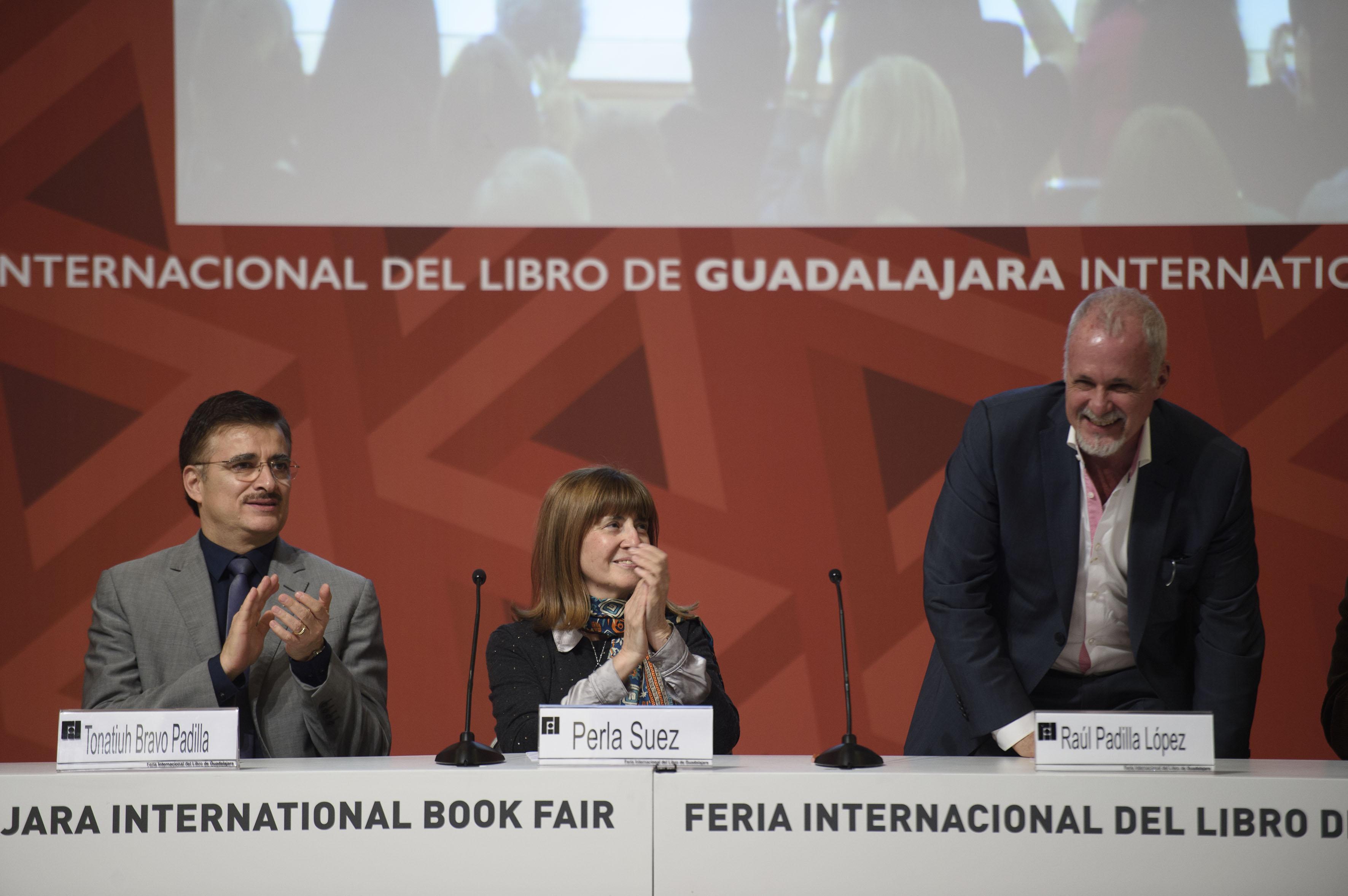Lic. Raul Padilla López participante durante la ceremonia del Premio Sor Juana  Ines de la Cruz 2015