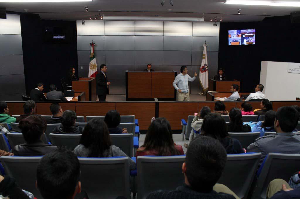 Sala de juicios orales