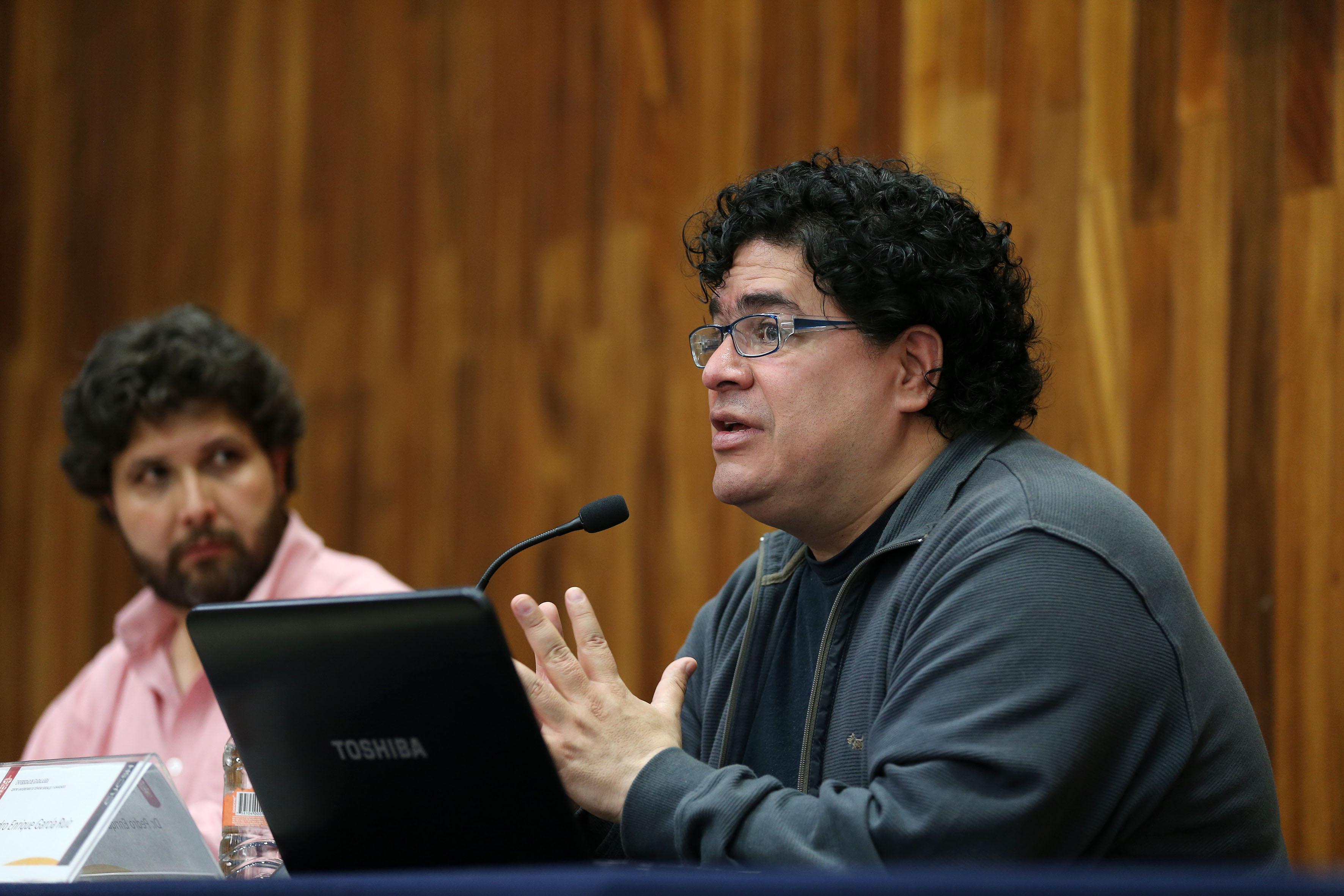 Pedro Enrique García Ruiz, doctor en Filosofía de la UNAM
