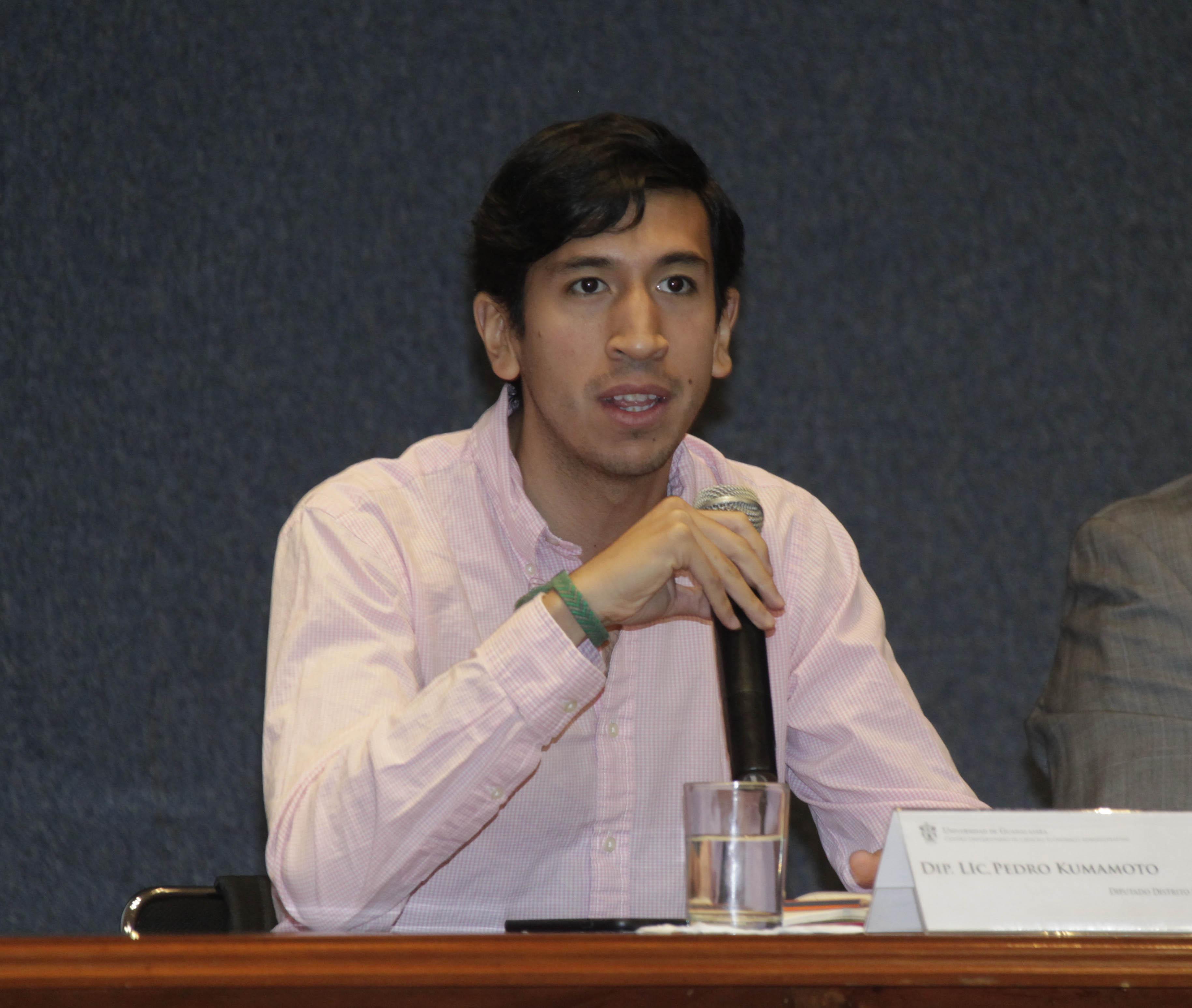 Diputado, Pedro Kumamoto