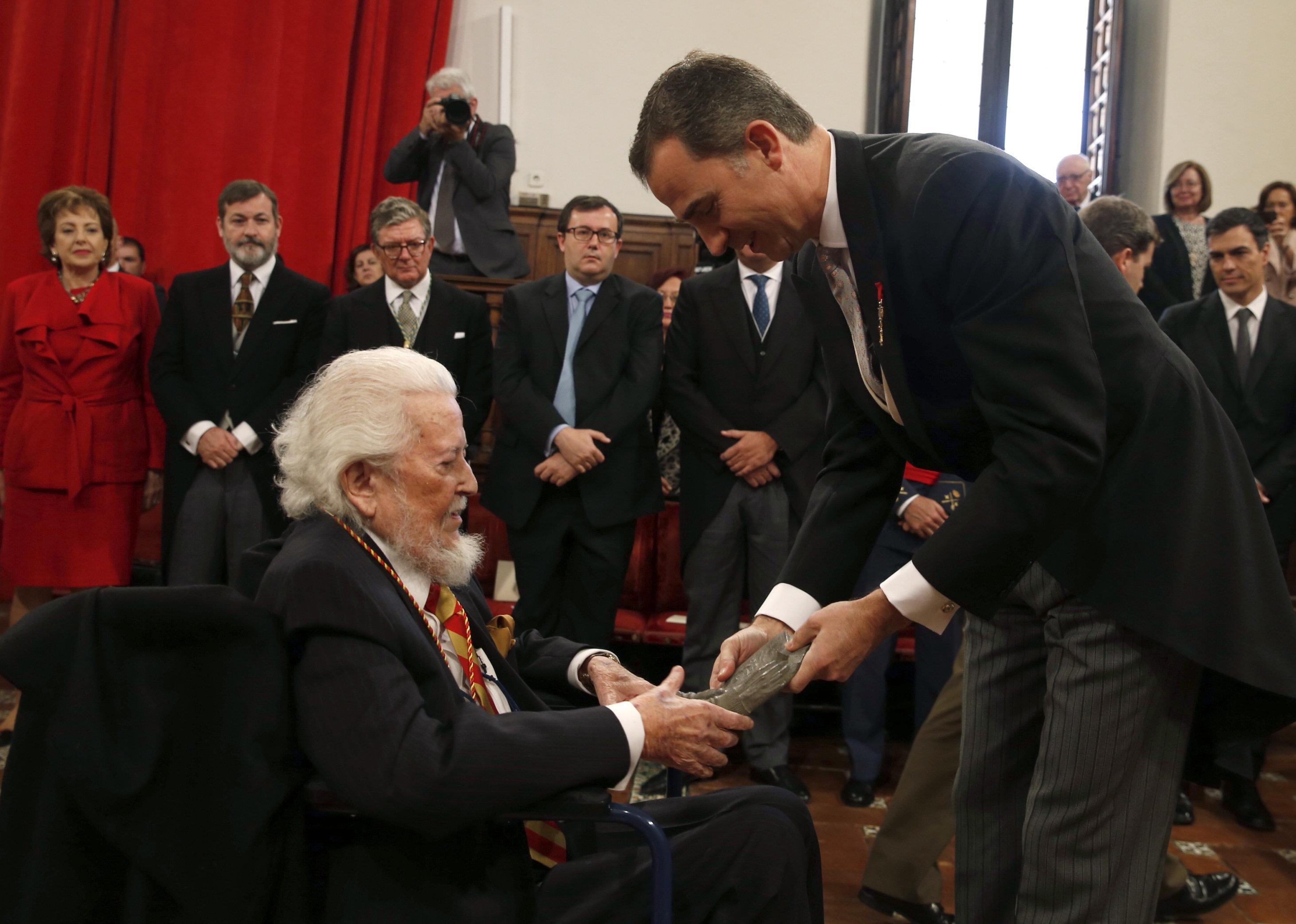 El escritor Fernando del Paso