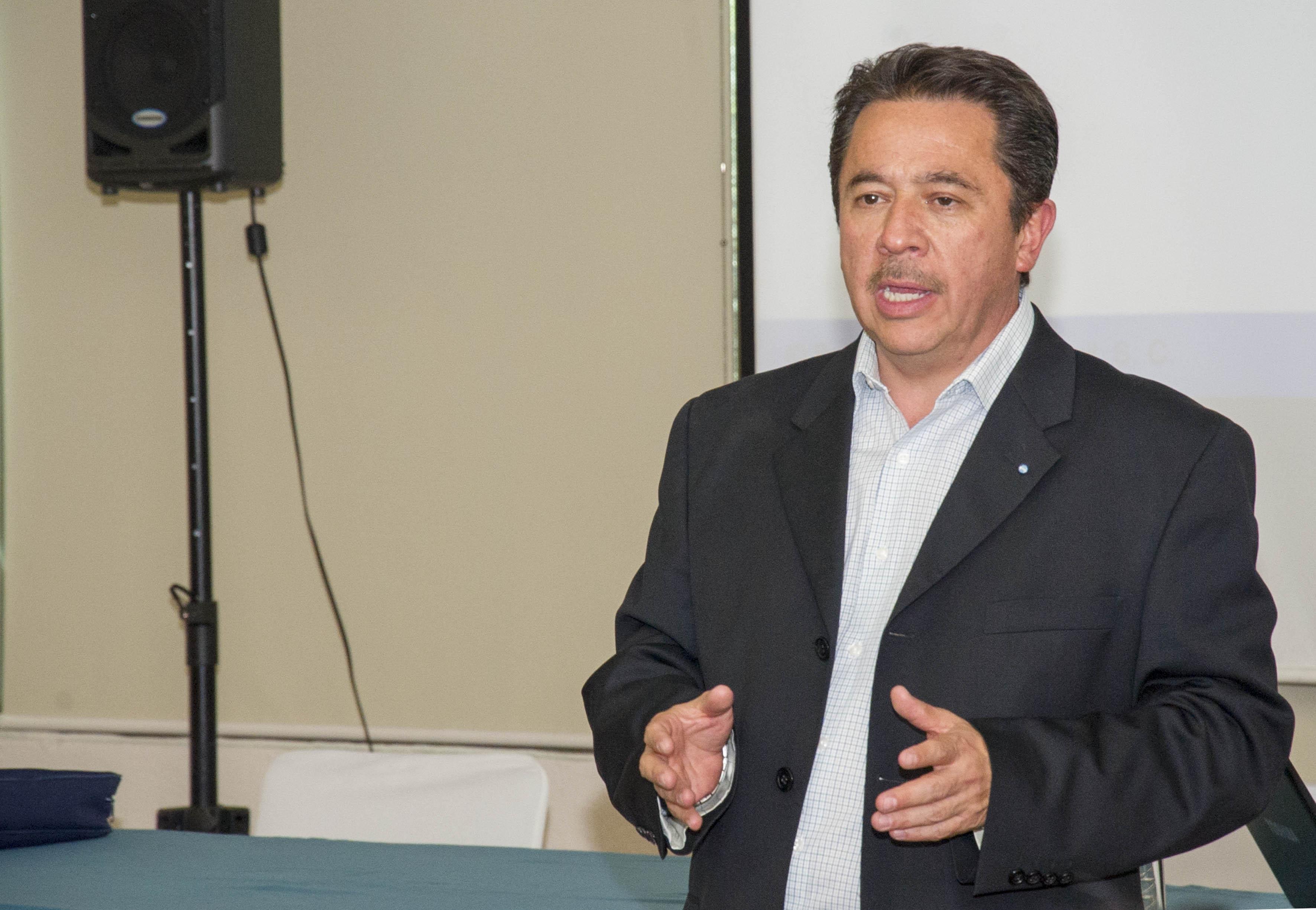 Abogado especialista en propiedad intelectual Roberto Durán González, responsable de la oficina del despacho Becerril, Coca & Becerril