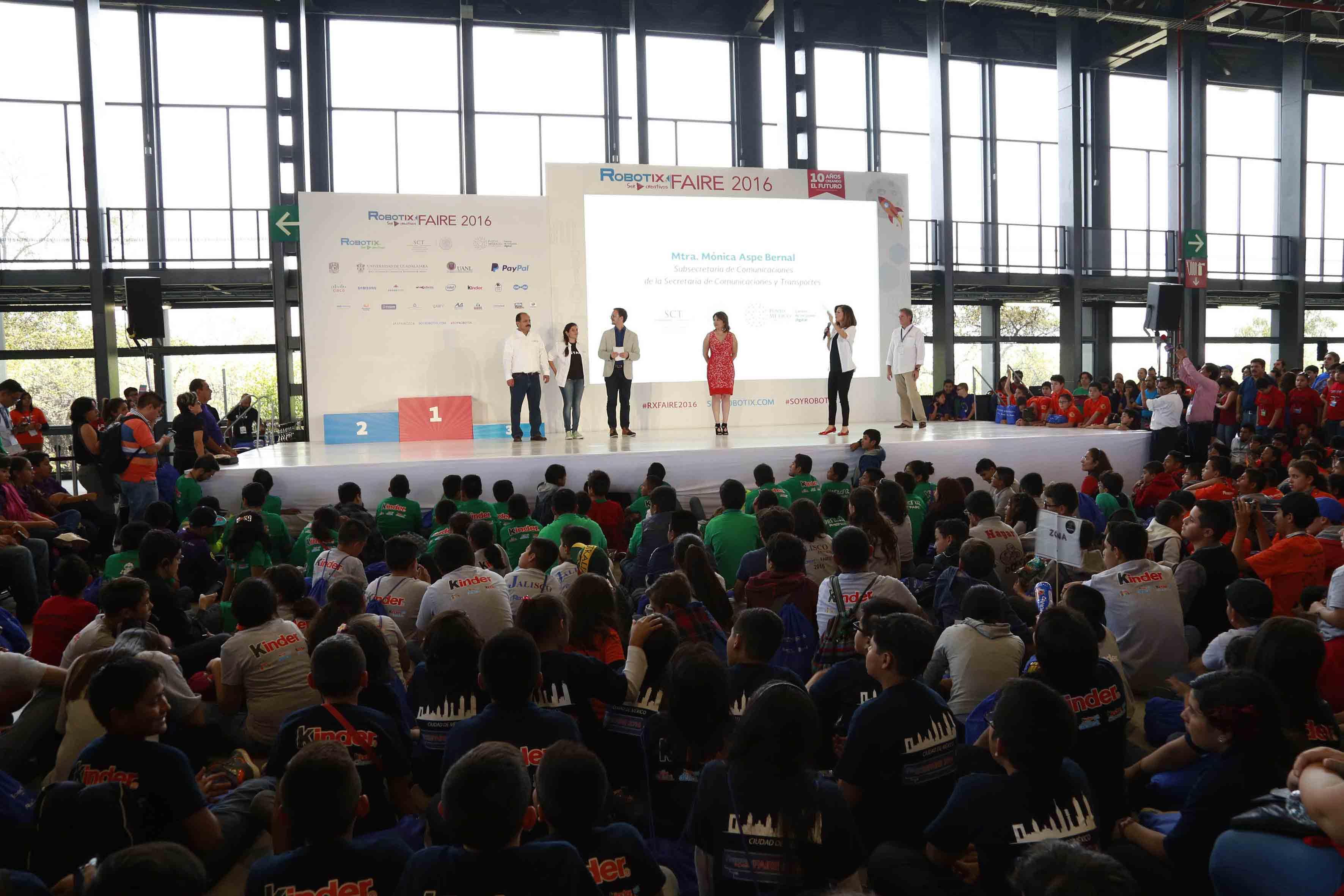 Feria Nacional de Robótica 2016, celebrada este fin de semana en Ciudad de México.